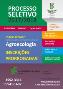 Folder Agroecologia frente