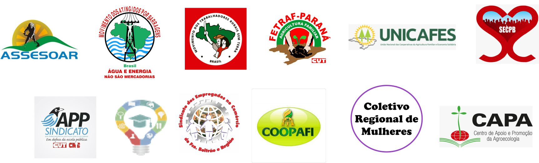 Nota do Fórum Regional das Organizações e Movimentos Sociais Populares do Campo e da Cidade do Sudoeste do Paraná