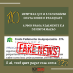 10 mentiras que o agronegócio conta sobre o Paraquate