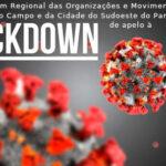 Fórum Regional lança nota de apelo a lockdown no sudoeste